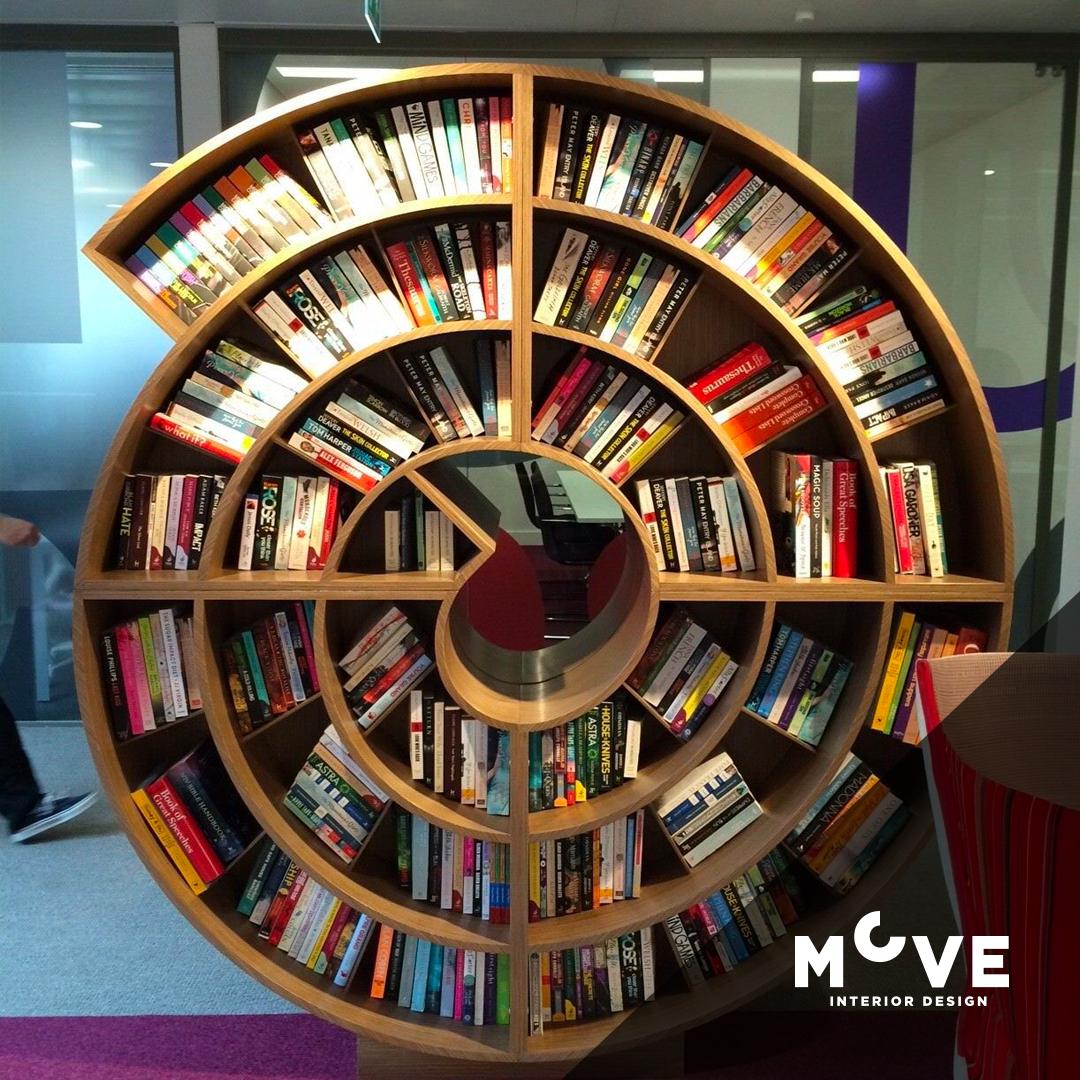 Evinizde Kütüphane Tasarımları Fikirleri