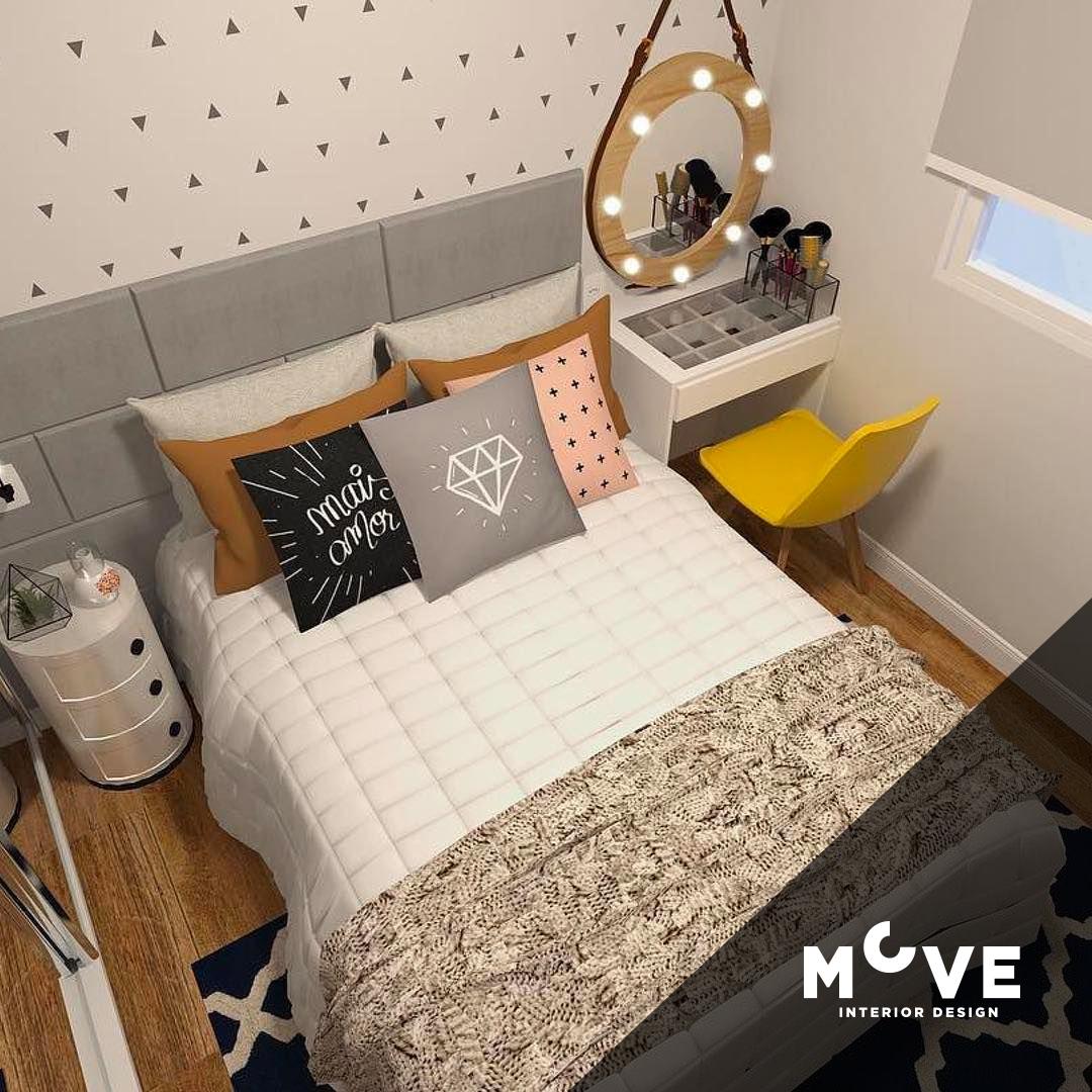 Küçük Yatak Odası Dekorasyon Fikirleri 2021